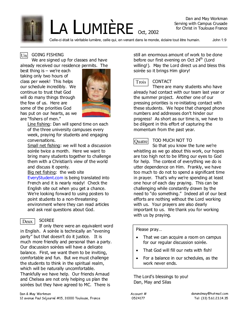 Newsletter October 2002
